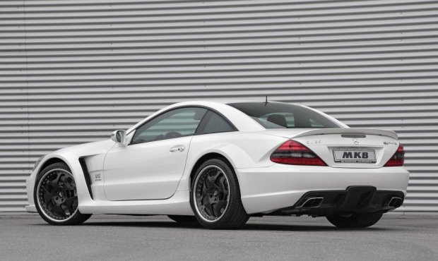 Mercedes Benz SL 65 AMG Black by MKB 02