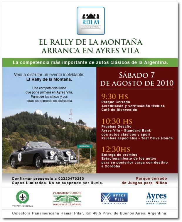 RALLY DE LA MONTAÑA