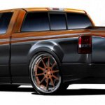 4-Custom Shop Ford F-150 para el SEMA
