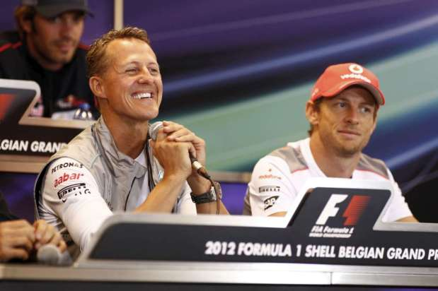 F1 - MEMecedes Benz AMG petronas, Gran Premio de Belgica 2012 06