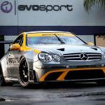 Mercedes Benz CLK 63 AMG Black Series race car by MBBS Evosport 04