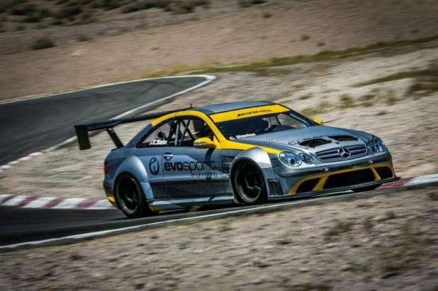 Mercedes Benz CLK 63 AMG Black Series race car by MBBS Evosport 06