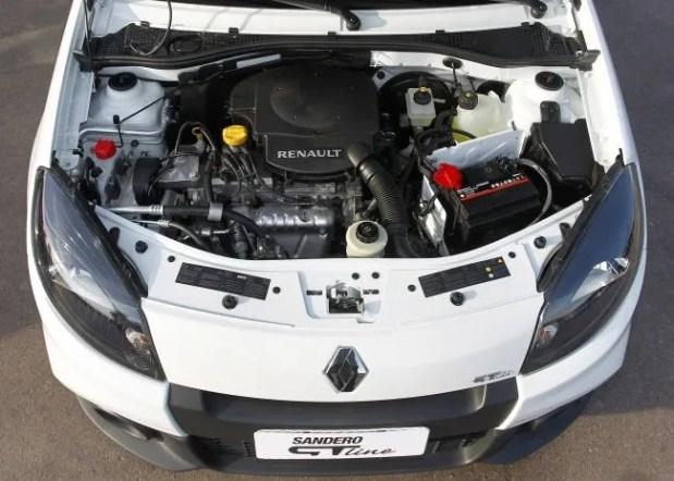 Renault Logan y Sandero con nuevo motor 1.6 8V Hi Power