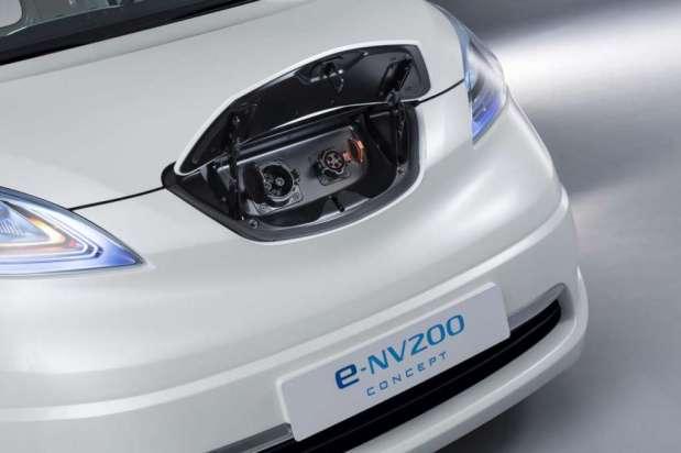 Nissan e-NV200 panel van concept 2012 13