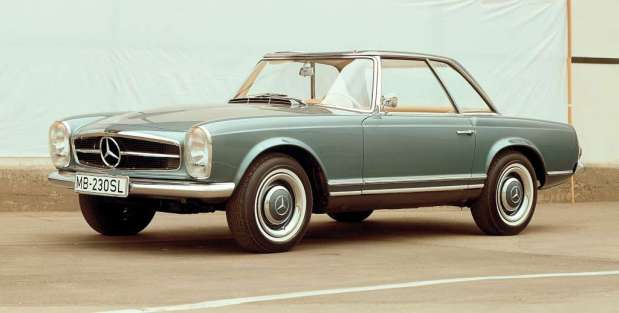 Mercedes Benz 230 SL 1963 01