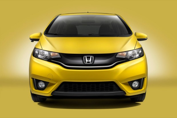 The 2015 Honda Fit.