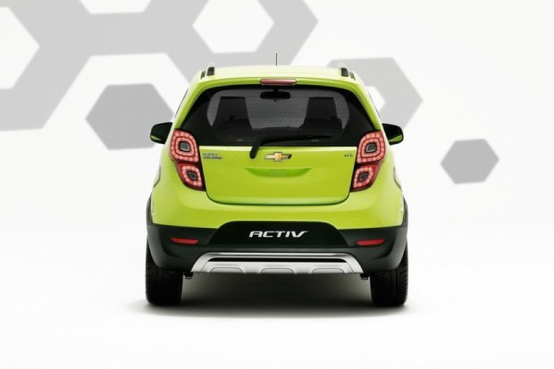 Rear View New Chevrolet Beat Activ