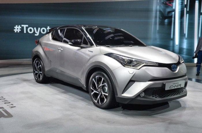 Toyota C-HR, El Nuevo Crossover Compacto Japonés