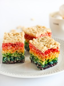 arcoiris rice krispies