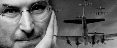 Steve Jobs creía que era un piloto de combate de la Segunda Guerra Mundial en una vida pasada