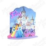Adorno Princesas 3D