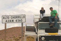 Cruzando a Cordilheira dos Andes