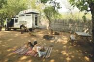 Acampamento na Suazilândia