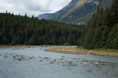 Rio Chilkoot em Haines