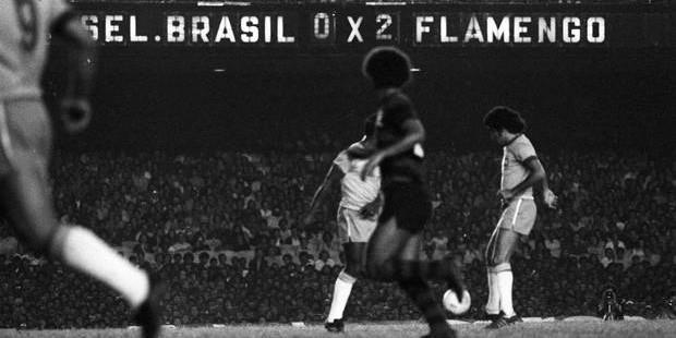 Há 39 anos o Flamengo venceu a Seleção Brasileira e chorou por Geraldo Assoviador