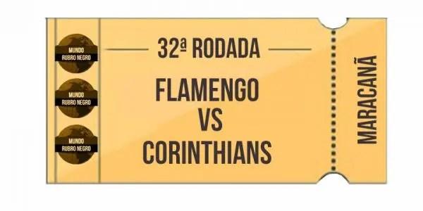 Ingressos - Flamengo x Corinthians