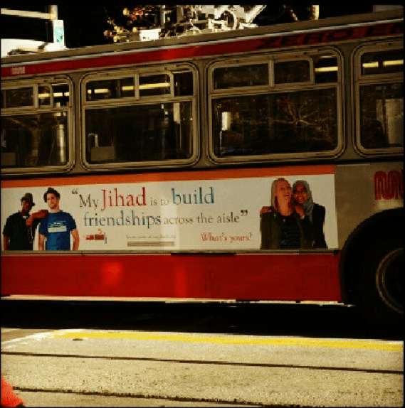jihad ad on muni