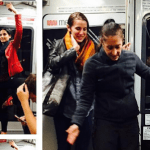 Spontaneous photoshoot features two ballet dancers who met on Muni