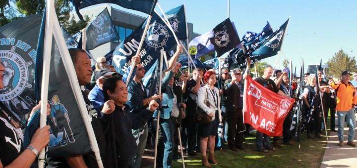 Chevron rally Perth