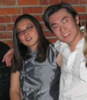 Gary and Marlene Lau at an official Sauder MBA party circa March 2005