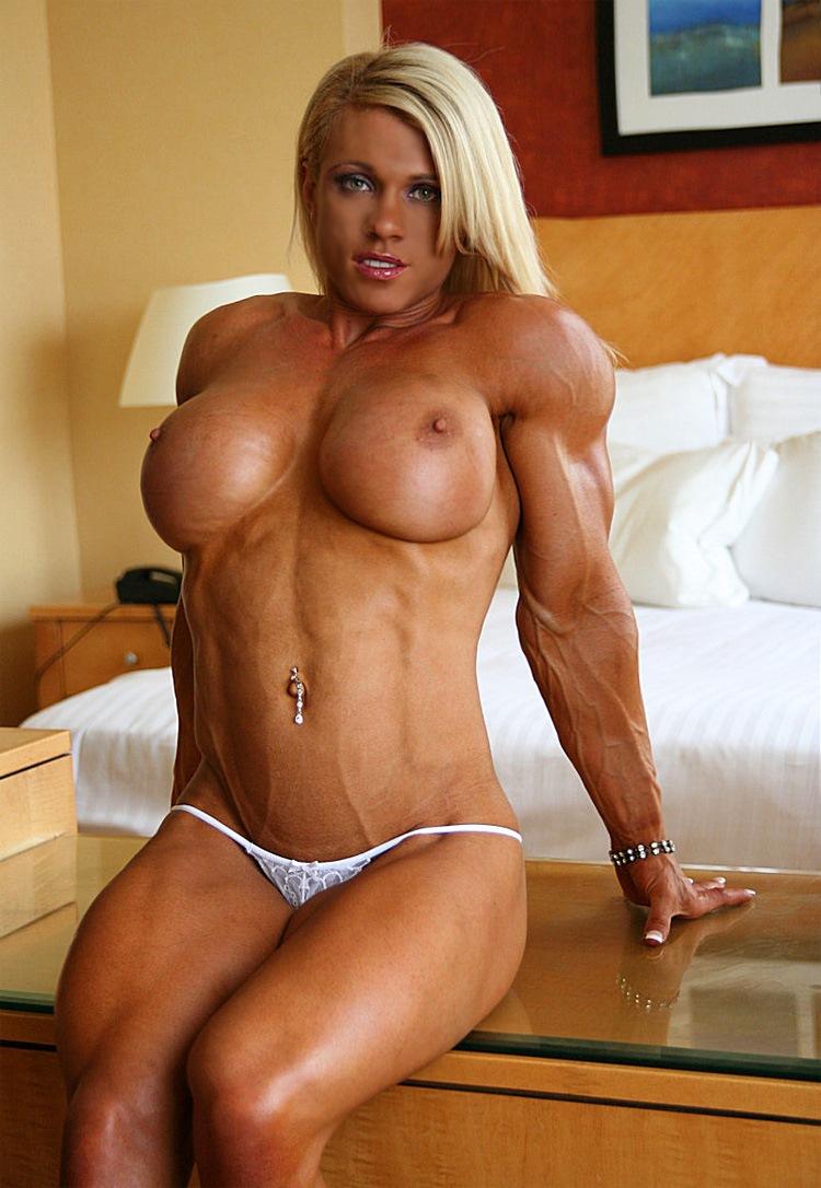 muscular fighter