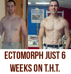 Ectomorph Gains Muscle and Torches Fat In 6 Weeks