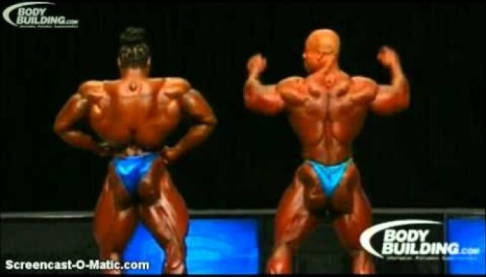 Kai Greene Vs Phil Heath in Mr.Olympia 2012