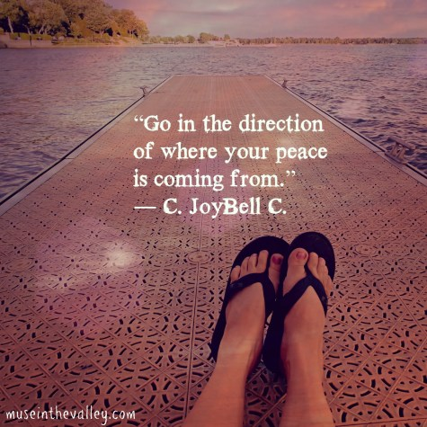 peace quote my pic