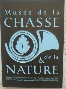 MUSEO DE LA CAZA Y NATURALEZA DE PARIS