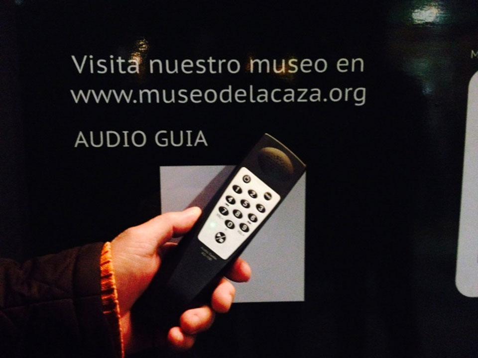 AUDIO GUIA DEL MUSEO DE LA CAZA