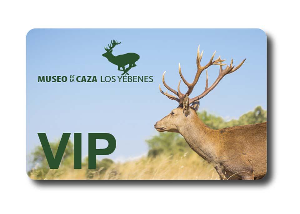 TARJETA VIP MUSEO DE LA CAZA