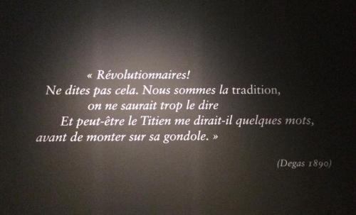 An den Wänden finden sich immer wieder Zitate, die auf mich sehr atmosphärisch gewirkt haben (Foto: Tanja Neumann)