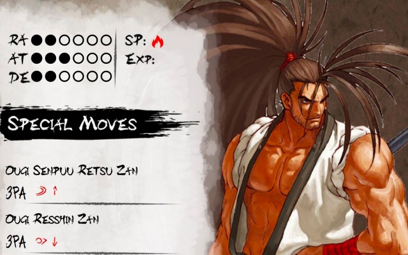 Top 10 Fighting Game Characters n°10: Haohmaru