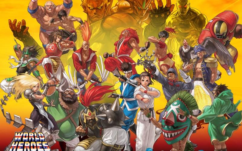 Personaggi da World Heroes – Parte 2