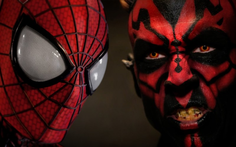 Fantasy Fight – Spiderman VS Darth Maul – Parte 1