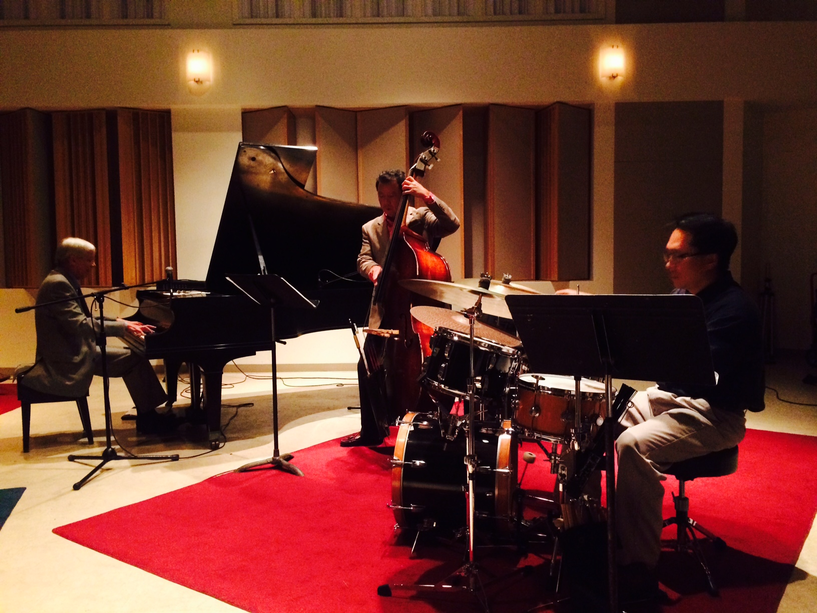Rich Crandall Trio in concert