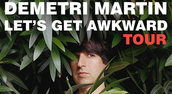 PREVIEW: Demetri Martin @ Lincoln Theatre 5/13