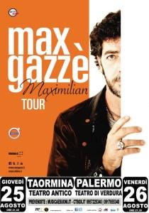 gazzè locandina tour estate 2 date