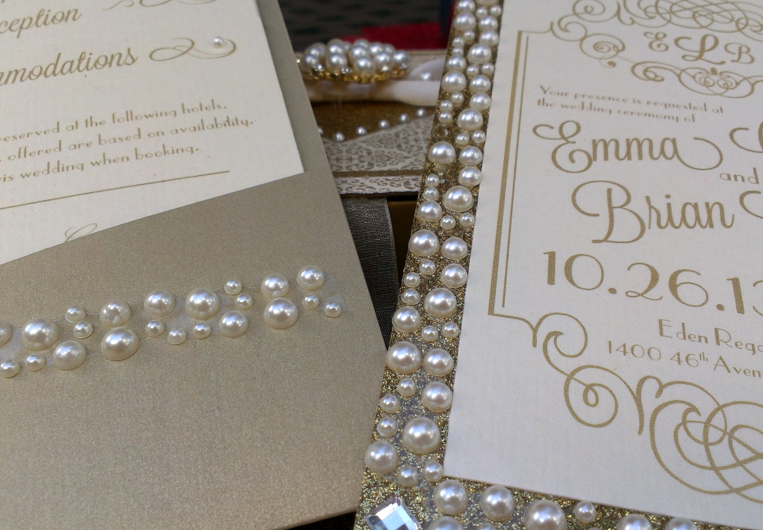 2 gatsby wedding invitations This invitation combines the Gatsby theme with the new trend in Musical Invitations and use of
