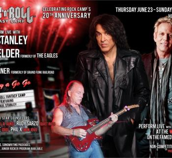 perform with paul stanley and don felder