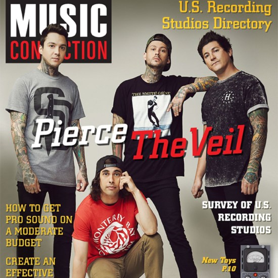 Pierce The Veil cover current issue