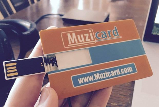 Muzicard Close Up