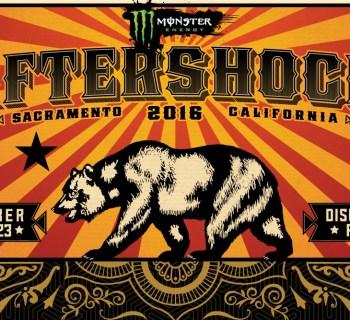 Aftershock band set times 2016