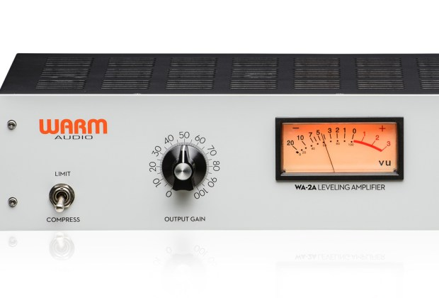 Warm Audio WA-2A tube opto compressor music gear review
