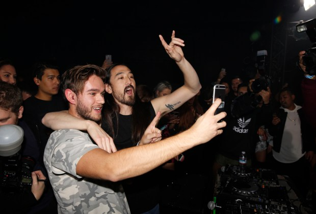 Steve Aoki Birthday and Dim Mak 20th - photo by The Cobra Snake