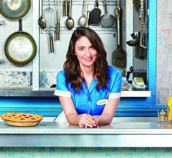 """Sara Bareilles in """"Waitress"""" - photo credit: Josh Lehrer"""