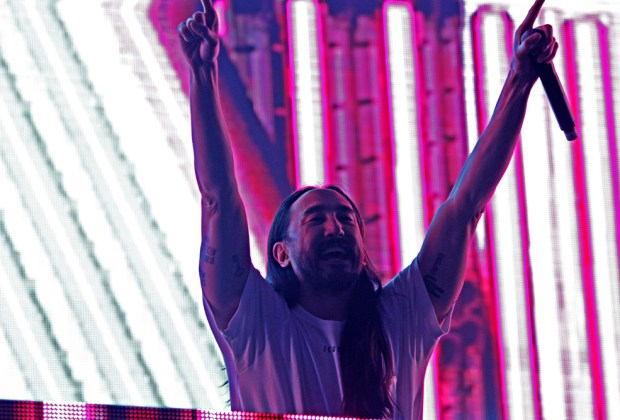 Steve AOKI at 97.1's Amplify event - photo credit: Xxposure Photography