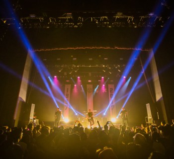 Yellowcard's final tour at the Novo in Los Angeles, CA - photo credit: Jim Donnelly