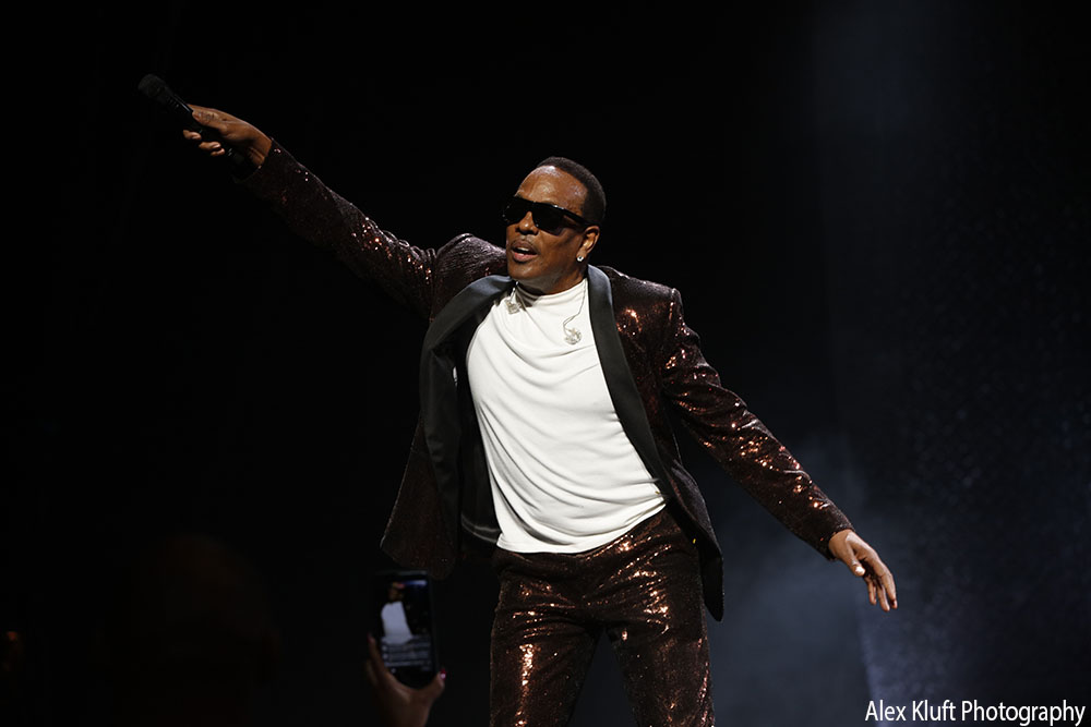 Charlie Wilson at Microsoft Theater - photo credit: Alex Kluft
