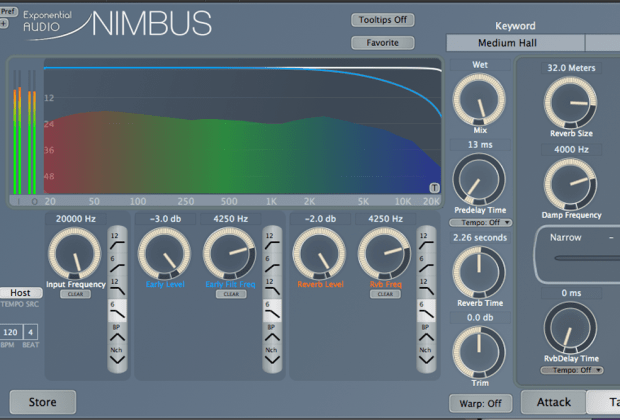 Exponential Audio - Nimbus plug-in - music gear review